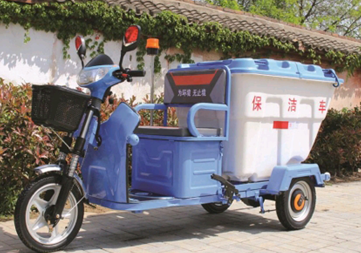 塑料桶保洁车